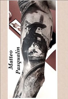 Tattoo by Matteo Pasqualin