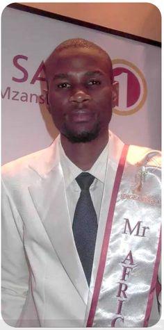 Mthokozisi Sikhosana - Mr.Universal Ambassador South Africa 2015