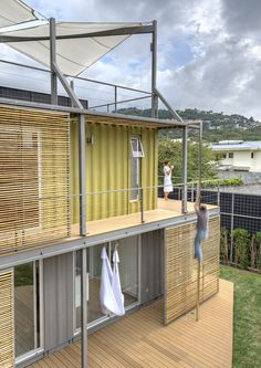 Container House - Sélection de constructions en container : www. - Who Else Wants Simple Step-By-Step Plans To Design And Build A Container Home From Scratch? Container Architecture, Blog Architecture, Container Buildings, Container Home Designs, Building A Container Home, Container House Plans, Container Office, Container Conversions, Shipping Container Homes