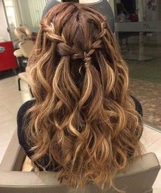 44 Easy Formal Hairstyles For Long Hair - Hair Styles Formal Hairstyles For Long Hair, Cool Braid Hairstyles, Dance Hairstyles, Hairstyles 2018, Hairstyle Ideas, Hair Styles For Formal, Stylish Hairstyles, Updo Hairstyle, Popular Hairstyles