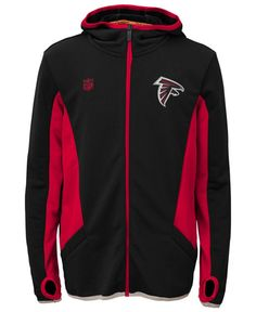 Outerstuff Boys' Atlanta Falcons Strike Full-Zip Hoodie