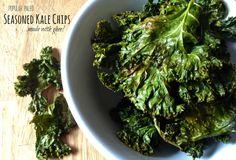 Fast Paleo » Seasoned Kale Chips - Paleo Recipe Sharing Site