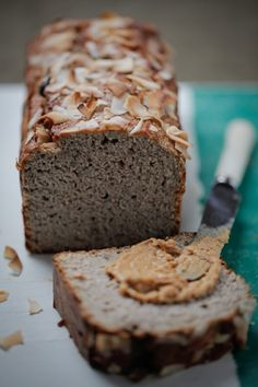 Banana Coconut Bread by Theresa Cutter