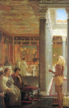 Egyptian juggler by Sir Lawrence Alma-Tadema, via Flickr