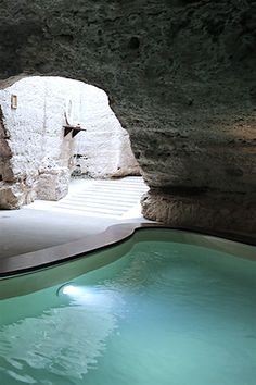 I would definitely become a cave woman if this was my cave Masseria Torre Coccaro, Puglia, Italy