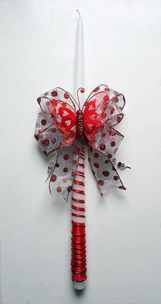 18 Polka Dot and Butterfly Red Greek Easter Greek Easter, Palm Sunday, Easter Ideas, Polka Dots, Butterfly, Candles, Red, Bowties, Pillar Candles