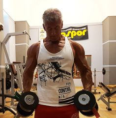 Roberto Eusebio in workout
