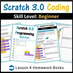 These Scratch 3.0 lessons are not just step by step tutorials, but cover programming concepts in details such as IF statements, loops etc.... Questions in the worksheet also expect students to look at their created scratch blocks and explain how and why they work. Middle School Technology, Teaching Science, Teaching Ideas, Coding Software, Computational Thinking, Teaching Programs, I Can Statements, Educational Technology, Computer Science