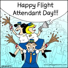 May 31 - Happy National Flight Attendant Day !!