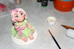 Little girl figure - for more go to Zoe's Fancy Cakes facebook page :)
