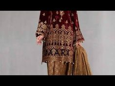 beautiful party dress best stitching best design party dress# fancy dr... Beautiful Party Dresses, News Design, Fancy Dress, Designer Dresses, Stitching, Cool Designs, Kimono Top, Youtube, Tops
