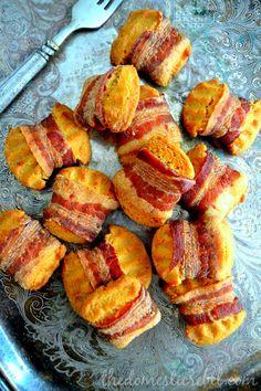 Bacon Shortbread cookies