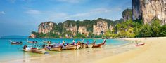 Railay Beaches - Railay West, Phra Nang Cave Beach, Tonsai Beach, Railay East