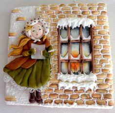 Christmas Carols! - Cake by The Cookie Lab - Bolachas Decoradas Artesanais