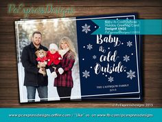 21 best christmas greeting cardsinvitations images on pinterest baby its cold outside holiday greeting card xm35 m4hsunfo