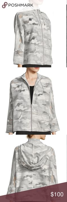 Koral Activewear Gray Descender Hoodie Jacket Brand new without tags  Gorgeous  Size medium koral activewear Jackets & Coats