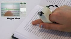 Tecnologia do Dia: Leitor na ponta dos dedos - Um produto muito simples e potencialmente eficiente, desenvolvido pelo MIT, se mostrou indispensável no quesito utilidade. Estamos falando do Finger Reader, uma espécie de anel inteligente que faz a leitura de textos, sejam estes impressos ou digitais, auxiliando pessoas com problemas de visão.
