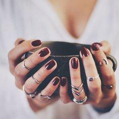 We like a coffee with a fresh manicure