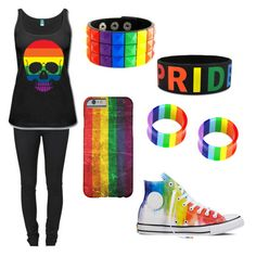 Designer Clothes, Shoes & Bags for Women Gay Outfit, Pride Outfit, Emo Outfits, Cute Outfits, Fashion Outfits, Gay Aesthetic, Aesthetic Clothes, Mode Lolita, Pansexual Pride