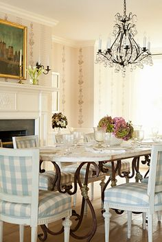 Traditional Dining Room #dining room