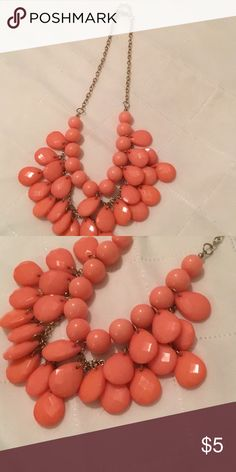 Pink costume jewelry! Super cute pink costume jewelry necklace. Bundle with other stuff in my closet! ACCEPTING ALL REASONABLE OFFERS!!!!!!!! Jewelry Necklaces