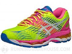 a6fa5ca0bf4 ASICS Gel Nimbus 17 Women s Shoes Yellow White Pink