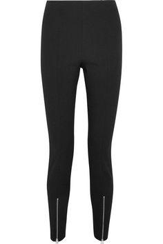 Elizabeth and James - Eddine Twill Slim-leg Pants - Black