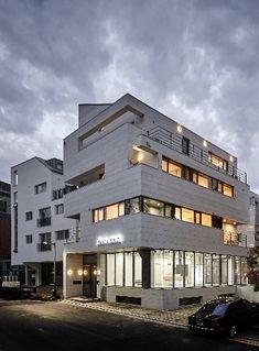 위례 가로풍경 Facade, Construction, Exterior, Mansions, Interior Design, Architecture, House Styles, Building, Image