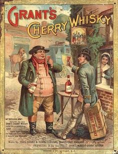 Grant's cherry whisky