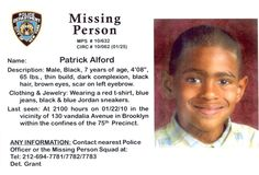 missing people | Missing Persons | Brooklyn