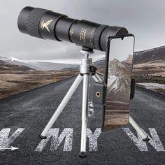 4K 300X Zoom Super Telephoto Monocular Telescope - JustNovo Smartphone, Wilderness Explorer, Astronomical Telescope, Samsung Galaxy, Cool Gadgets To Buy, Useful Gadgets, Clever Gadgets, Luxury Packaging, Luminous Flux