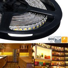 Dual Chip LED Variable Color Temperature LED Flexible Light Strip - NFS-DW600X-12V Rgb Led Strip Lights, Led Panel Light, Led Flood Lights, Led Light Strips, Led Ceiling Lights, Linear Lighting, Bar Lighting, Strip Lighting, Flexible Led Light