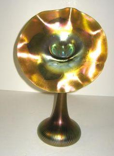 Trend Mark Vintage Val St Lambert Crystal Vase Signed Large 10.25 H 6 D Heavy Excellent Antiques