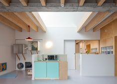 ZAmpone Architectuur's daycare centre features wooden walls