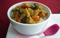 Easy curry chicken (korma)