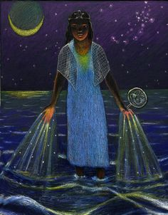 Yemanja Night by Clancy Cavnar - #Orisha