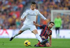 Cristiano Ronaldo NOT the best player Xavi has faced in El Clasico