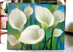 WOW!!! White Cala Lilies