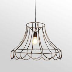 Wire Lamp Shade Pendant