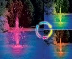 Swimline Color Changing LED Fountain - Welcome a beautifully-lit fountain to your next pool party or summer barbecue with this Swimline Color Changing LED Fountain . This fountain's LED. The Sims, Sims 4, Swimming Pool Fountains, Swimming Pools, Water Fountains, Fountain Lights, Cascade Water, Pool Colors, My Pool