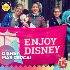 Sonrisas de #Disney se acerca con #enjoy15! #Dante #Rosario #promoTeam2016