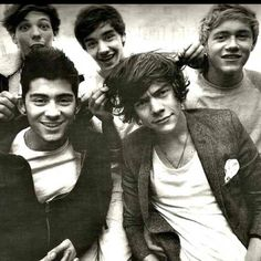 One Direction- I love all of their smiles in this one!