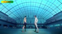 Free! Iwatobi Swim Club episode 1 Starting Block of Reunions