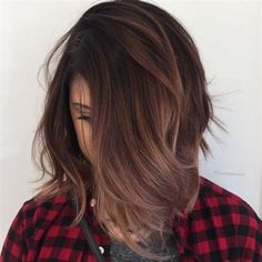 Gorgeous fall hair color for brunettes ideas (79)