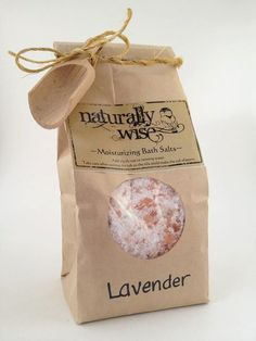 Moisturizing Bath Salts - packaging