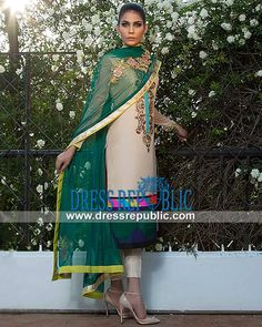 Designer Formal Dresses 2014 by Fahad Hussayn  Shop the Latest Selection of Top Pakistani and Indian Designer Fashion at Dressrepublic. Stores and Resellers can Avail Deep Discounts. by www.dressrepublic.com