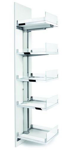 Convoy Centro pantry unit, to suit 600 mm cabinet width - in the Häfele Australia Shop