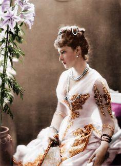 Elizaveta Fedorovna (1864-1918), wife of Sergey Alexandrovich, sister of Russian Last Empress Alexandra Fedorovna (wife of Nicolas II)