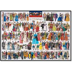 Costume Jigsaw Puzzle from Jigsaw Puzzles Direct - Order today and Get Free Delivery