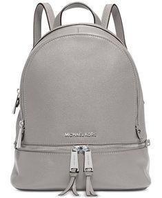 Image 1 of MICHAEL Michael Kors Rhea Zip Small Backpack